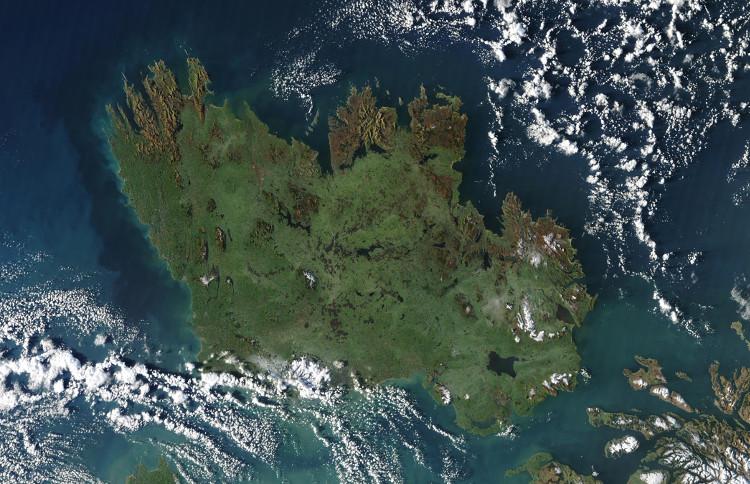 Ireland Space Station Image