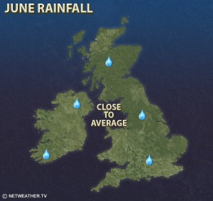 Net Weather June Rainfall