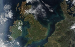 UK Satellite Map
